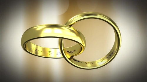 Gold Rings 87329 After Effects Templates After Effects